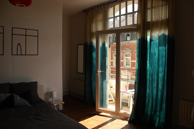 versuch diy dip dye vorh nge craftifair. Black Bedroom Furniture Sets. Home Design Ideas