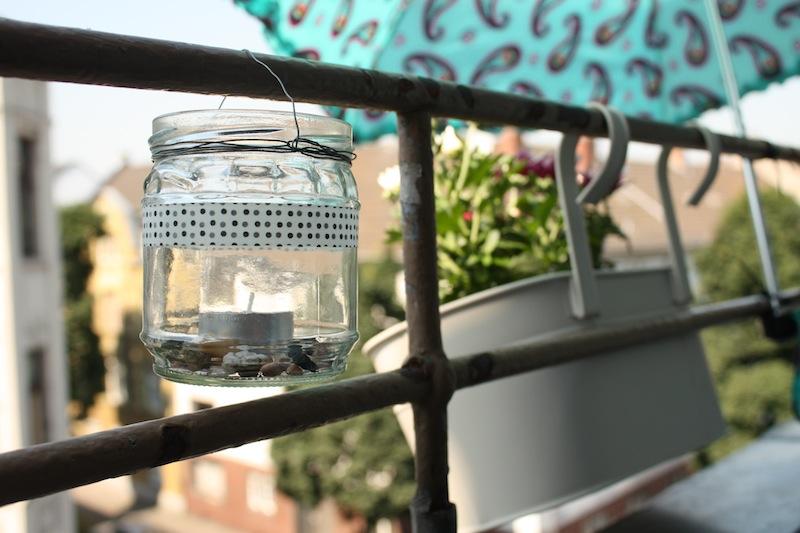 Glas als Windlicht - www.craftifair.com