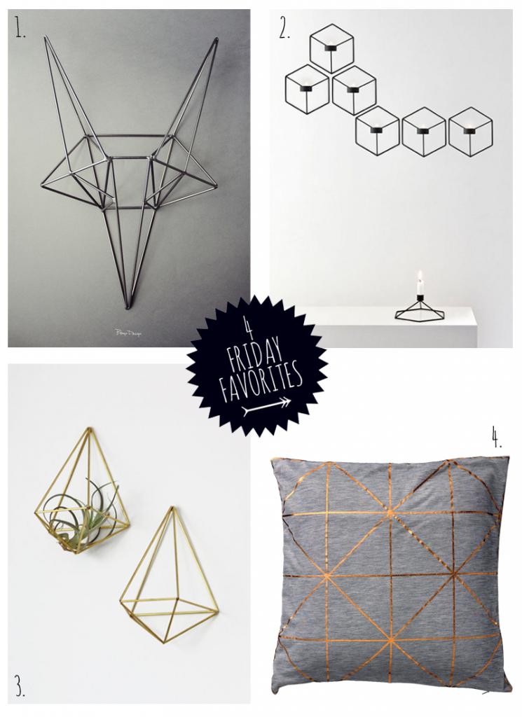 Freitags Favoriten – Geometrie für das Wohnzimmer