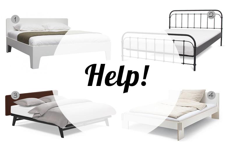Shopping: Ein neues Bett muss her