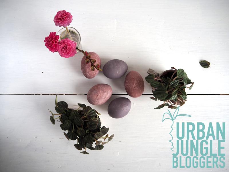 Urban Jungle Bloggers Oster Edition – ein gedeckter Ostertisch