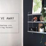 GIVE AWAY – Gewinne ein String Pocket Regal