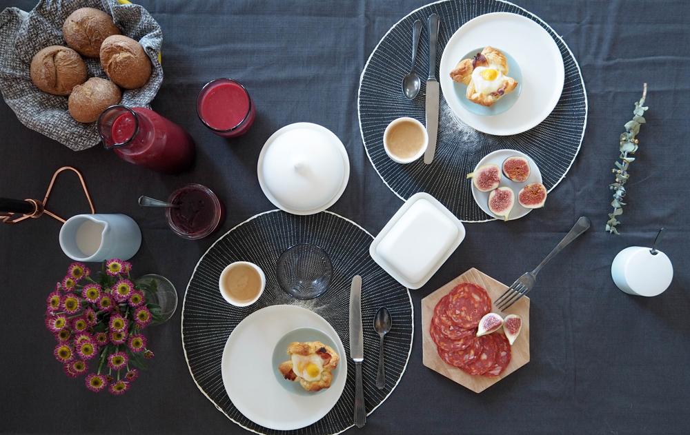 Neues Geschirr von Artdentiy + Rezept für Himbeer Hafer Drink