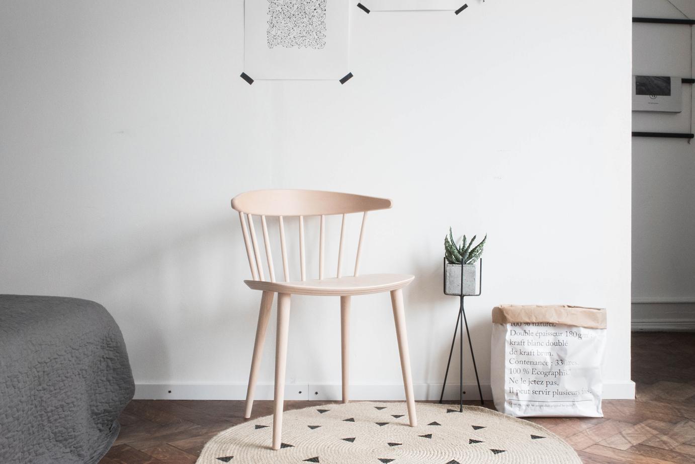 Hay Chair in the bedroom - www.craftifair.de