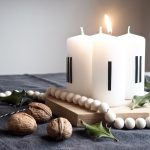 Ein simpler DIY Adventskranz in 5 Minuten