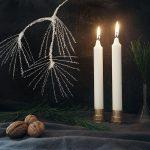 Einfacher geht's nicht – DIY Kerzenständer aus Messing
