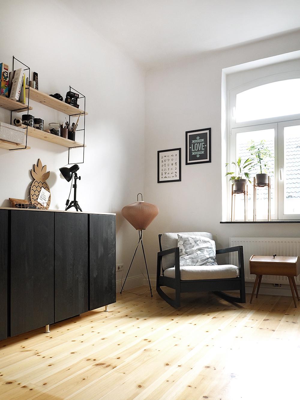 Ikea Hack - vom Ivar Schrank zum coolen Sideboard - www.craftifair.de