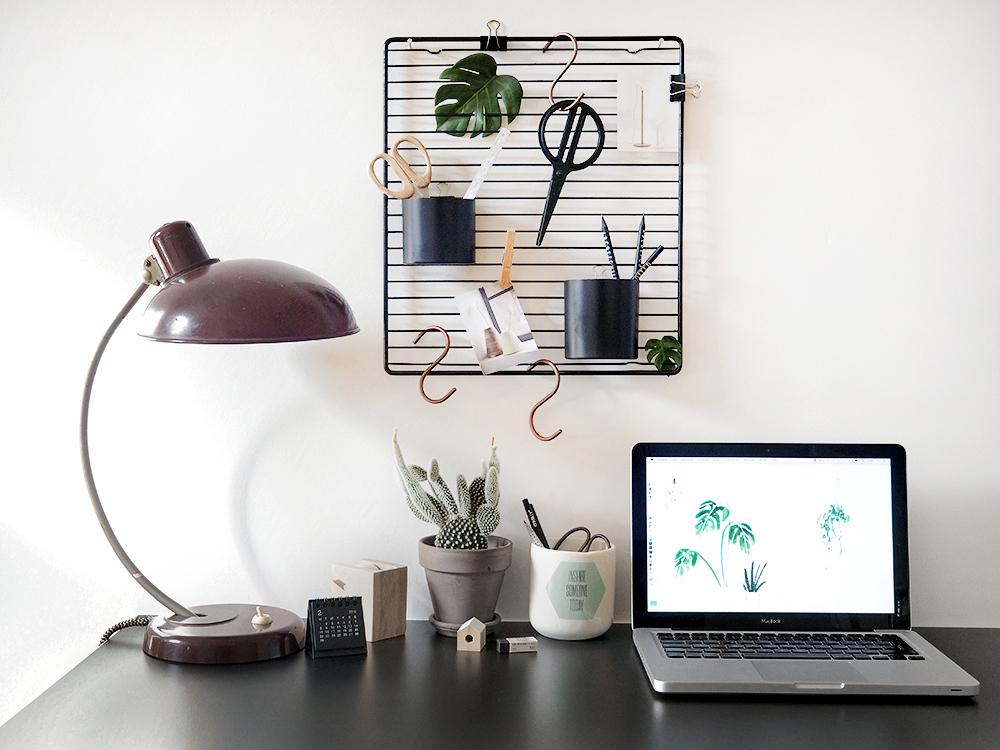 So einfach, so gut – moderner DIY Schreibtisch Organizer