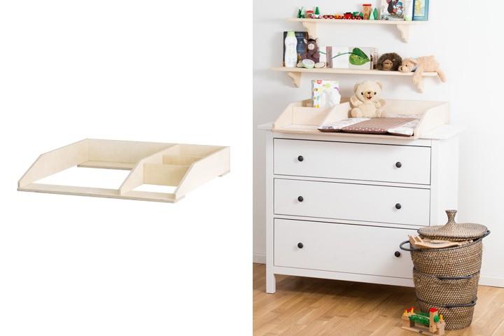 Ikea-Hemnes-Kommode-mit-kompaktem-Wickelaufsatz-mit-Fach_720x600