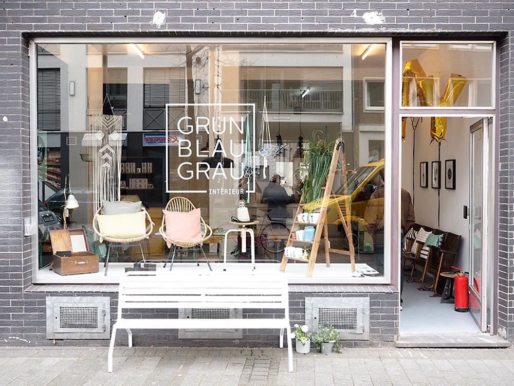 shopping tipp gr nblaugrau interieur in k ln craftifair. Black Bedroom Furniture Sets. Home Design Ideas