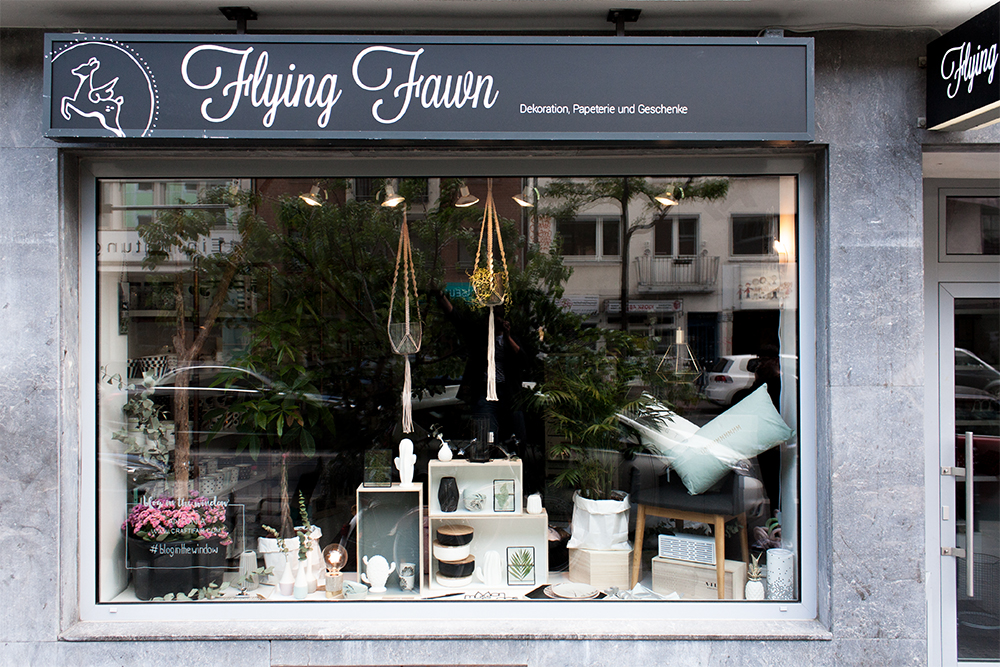 Das Craftifair Schaufenster bei Flying Fawn - www.craftifair.com