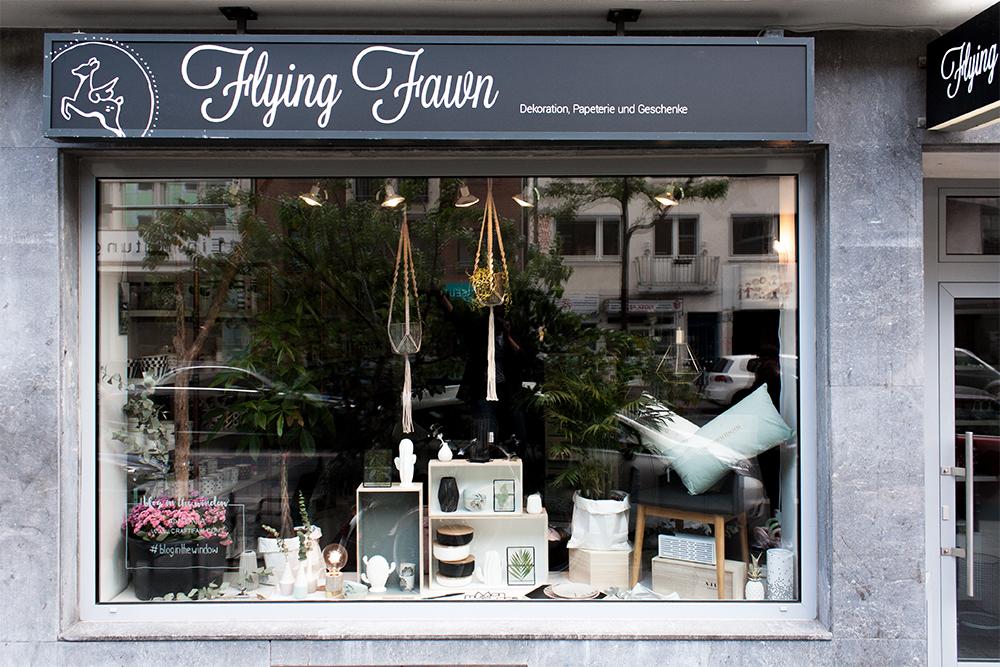 Das Craftifair Schaufenster bei Flying Fawn - www.craftifair.com