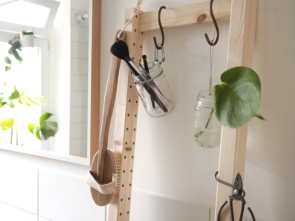 Ikea hack: diy ladder from ivar - www.craftifair.de