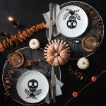 BOO – Gruselige DIY Teller für deine Halloween Party