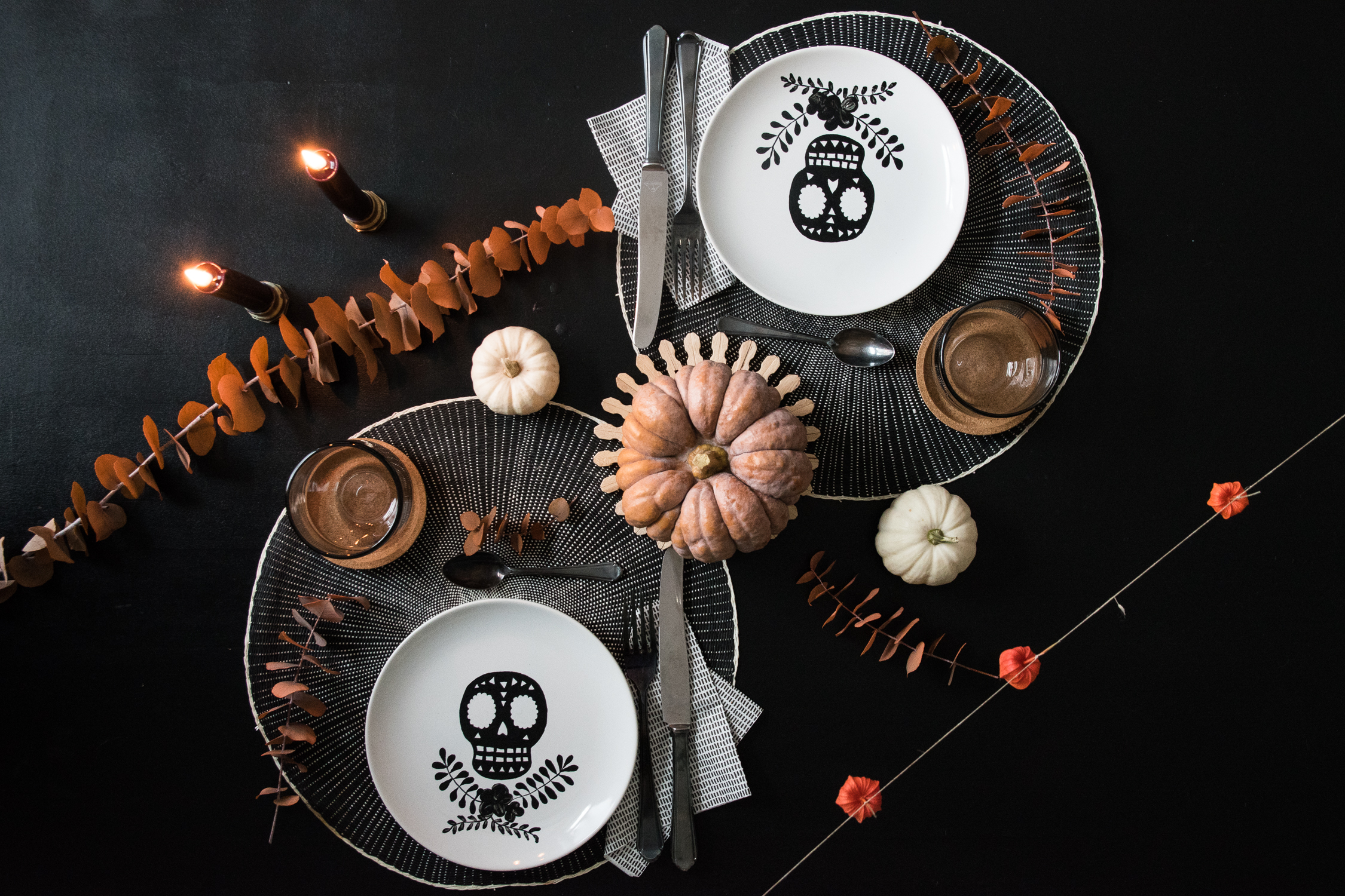 DIY Halloween Teller - www.craftifair.de