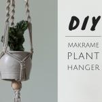 Wohnen mit Pflanzen – DIY Makramee Pflanzenhänger
