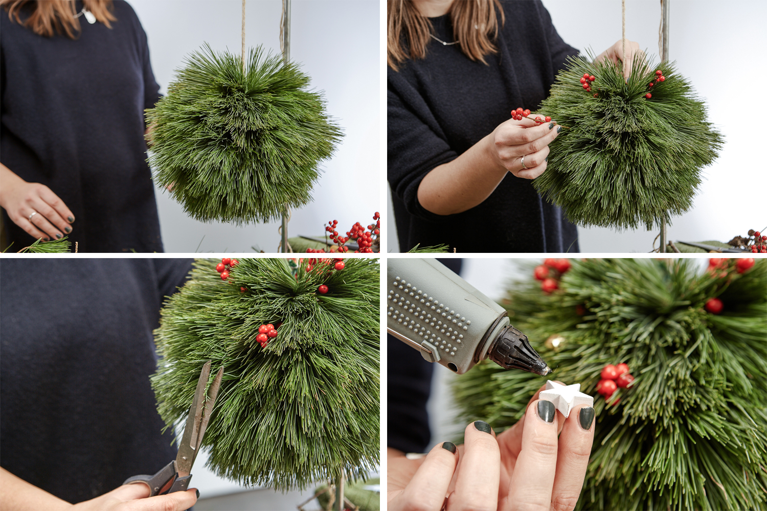 DIY Christmas PomPoms