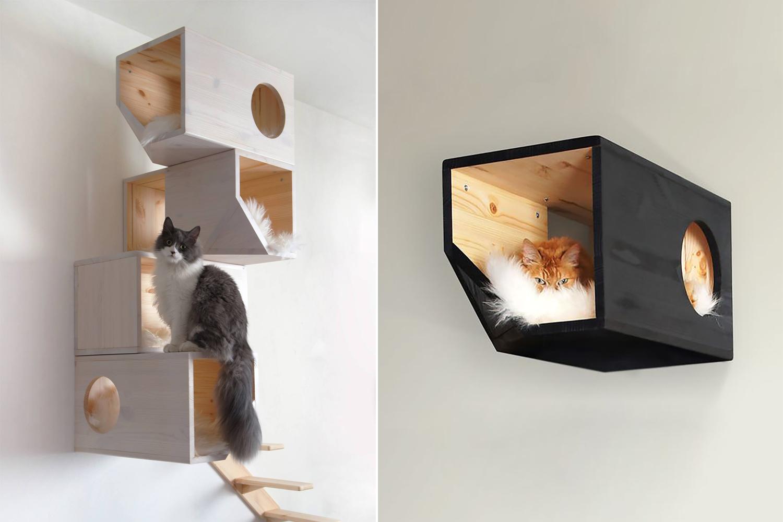 Stylische Katzenmöbel von Catissa - www.craftifair.com
