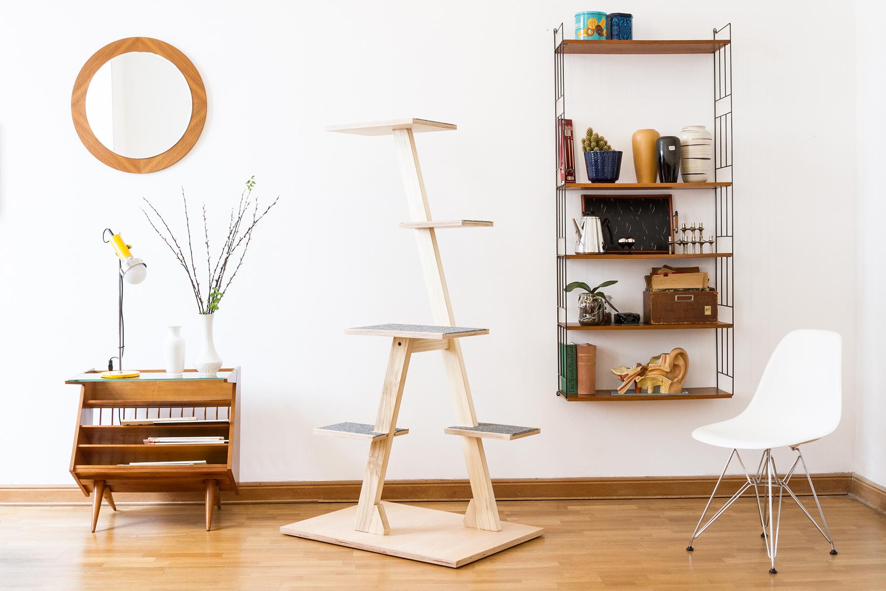 wohnen mit katzen das sind die sch nsten katzenm bel craftifair. Black Bedroom Furniture Sets. Home Design Ideas