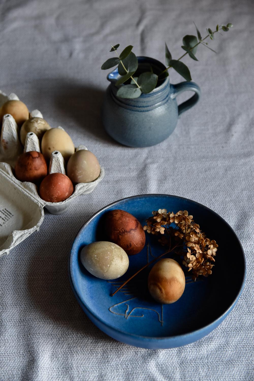 Fleamarket Finds #1 - blue ceramic bowl