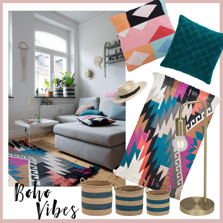 Einrichten im Boho Style - www.craftifair.com