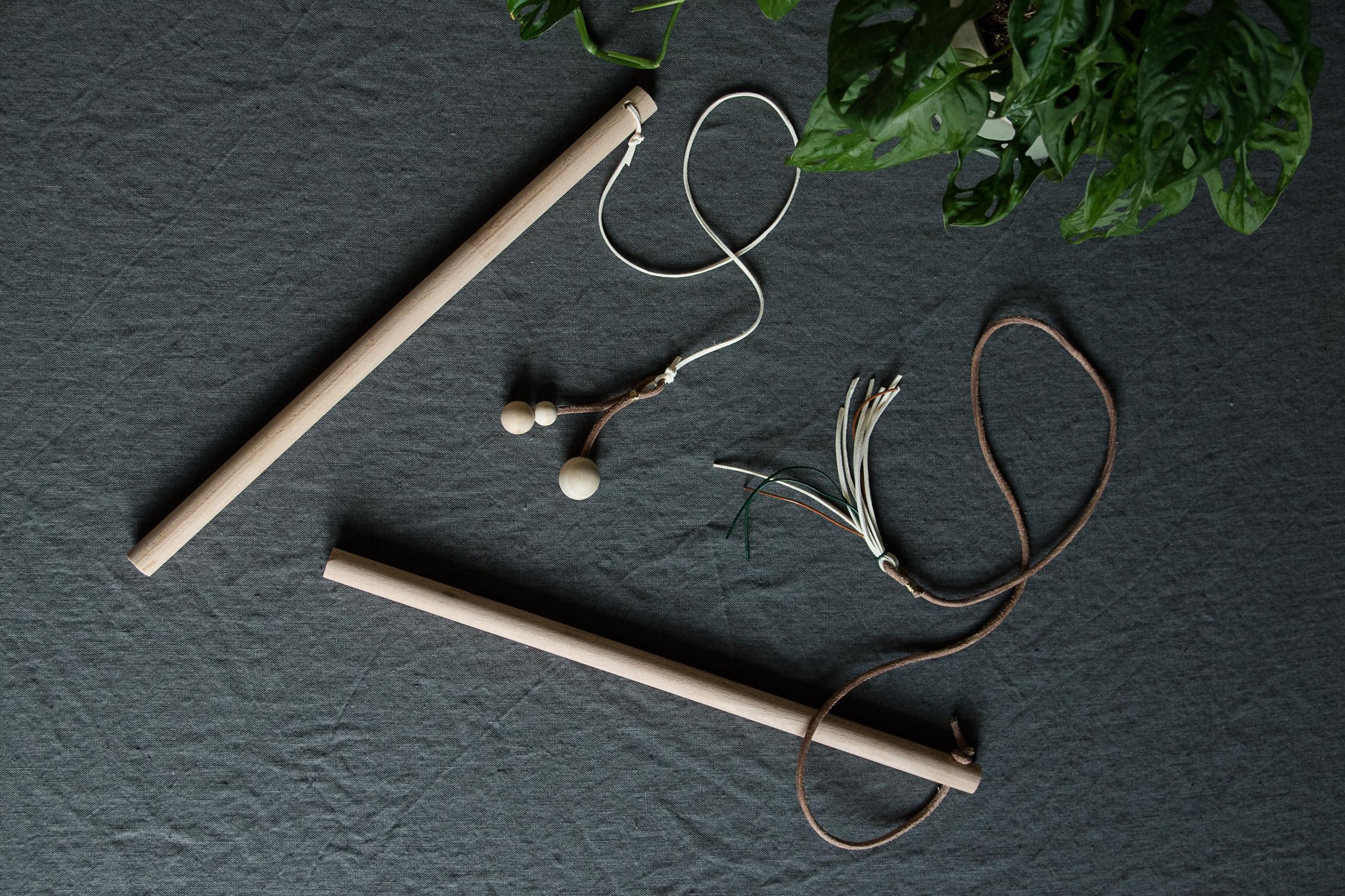 Modernes DIY Katzenspielzeug - www.craftifair.com