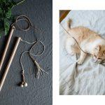 Wohnen mit Katzen – schlichtes DIY Katzenspielzeug