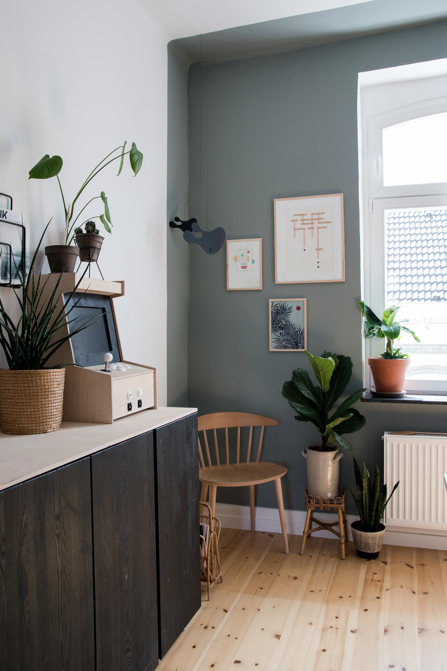 Arbeitszimmer Wandfarbe einrichtungsideen für ein wohnliches arbeitszimmer craftifair