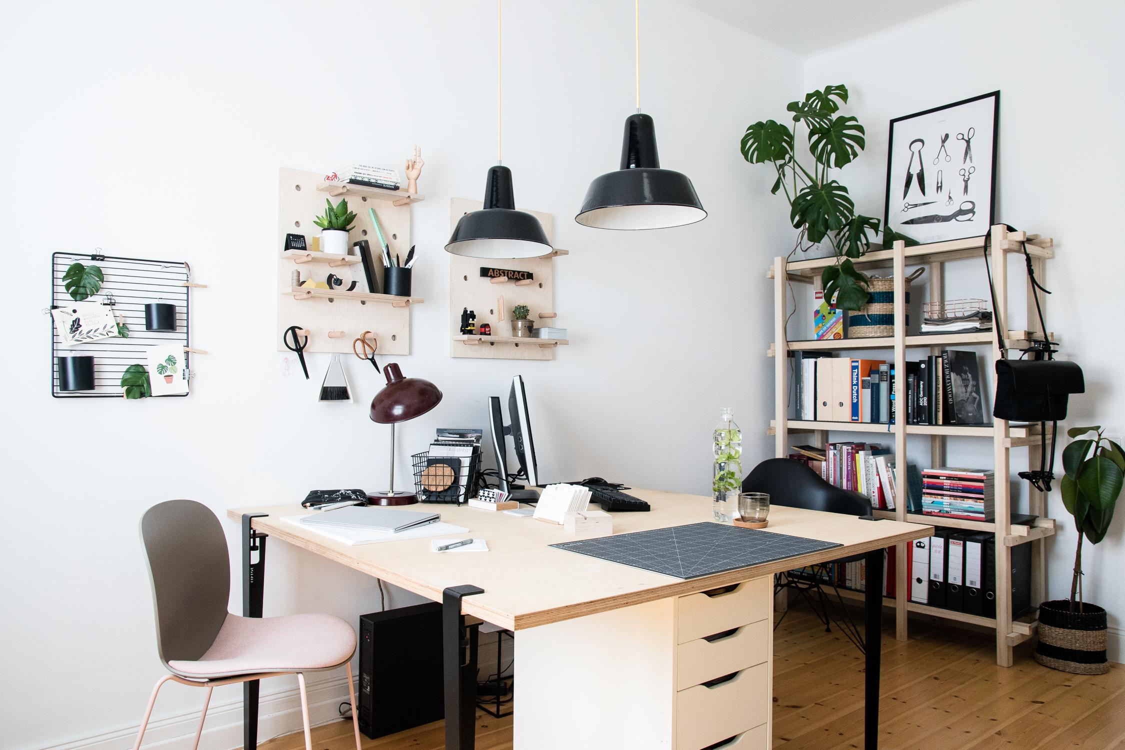 Einrichtungstipps für ein wohnliches Arbeitszimmer