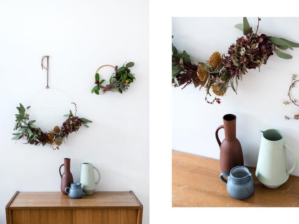 Der Restekranz – Vom Blumenstrauß zum selbstgemachten Herbstkranz