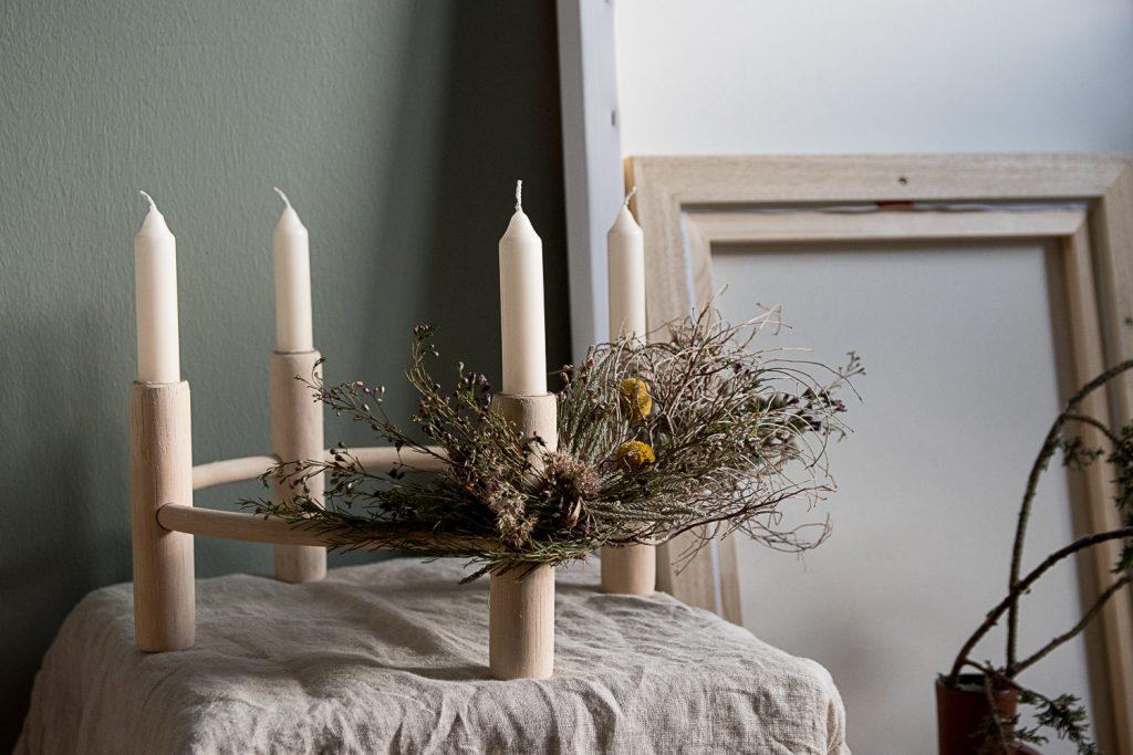Heidekränzchen aus knospenheide als deko für den spätherbst mdr