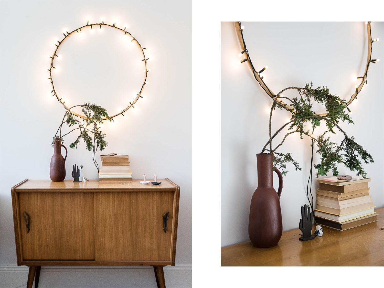 Schlichter Weihnachtskranz selbstgemacht – von der Schönheit der einfachen Dinge
