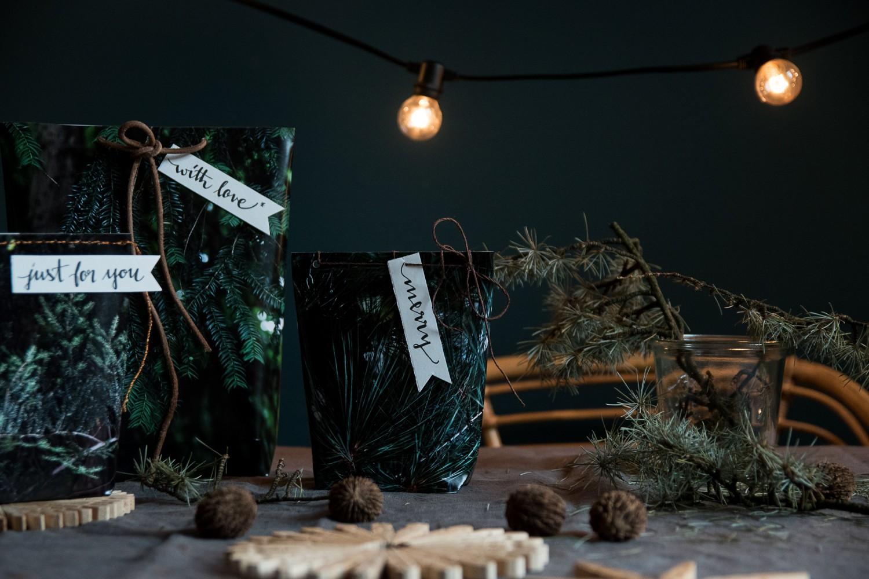 Weihnachtliches DIY - Selbstgemachte Geschenktüten aus Postern