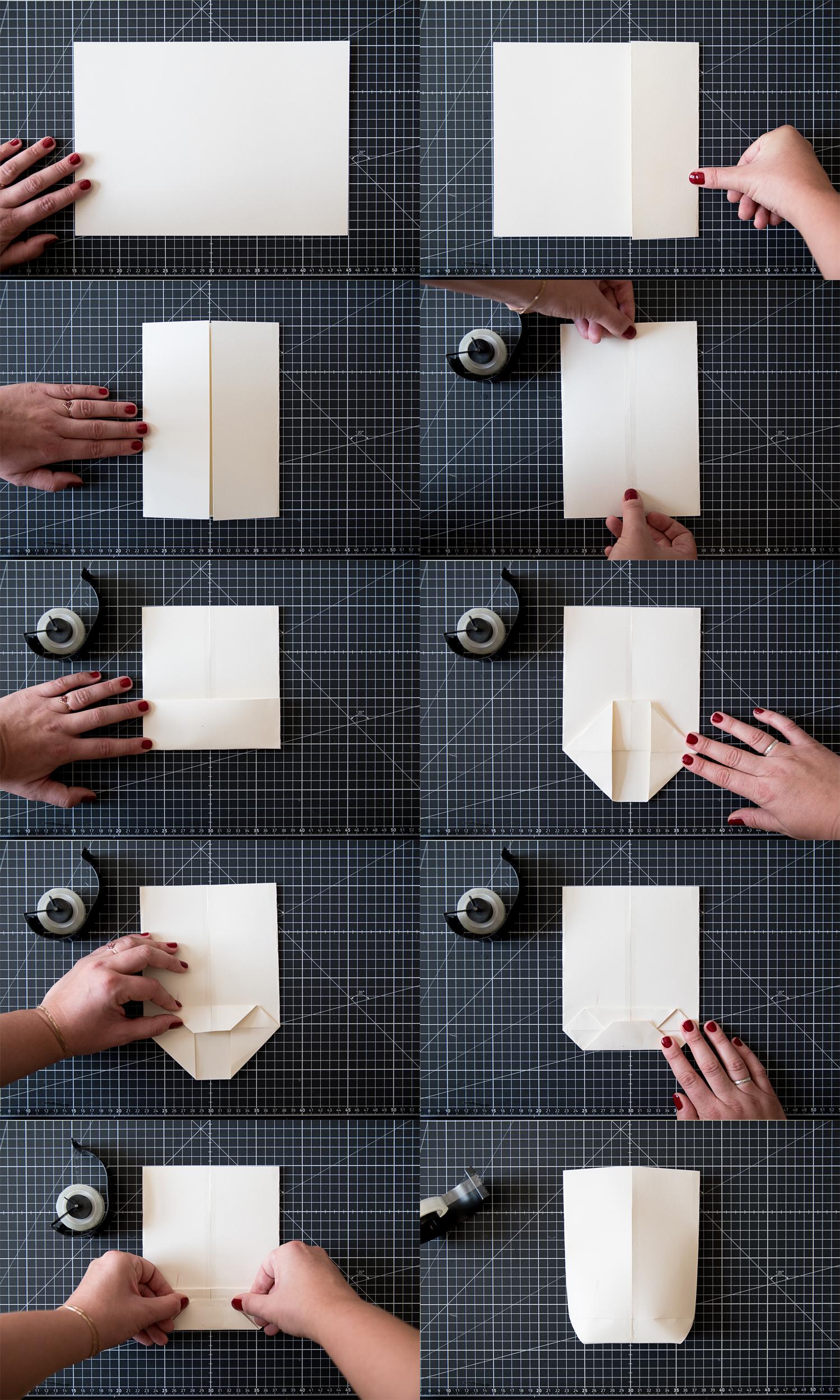 DIY Geschenktüten aus Postern