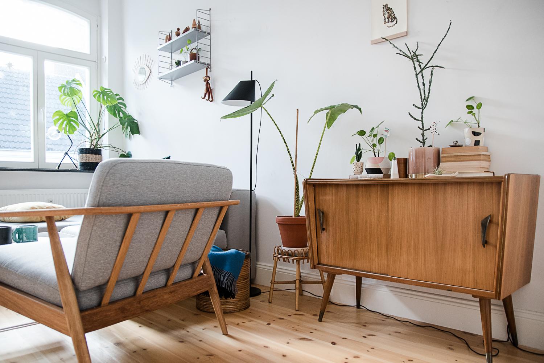 Wohnen mit Vintage Möbeln + Tipps für Ebay Kleinanzeigen | craftifair