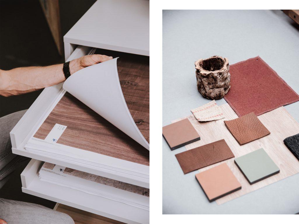 So entstehen Dekore für Möbel und Fußböden – ein Besuch in der Dekordruckerei Interprint