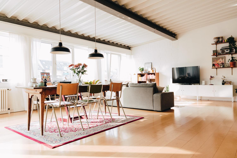 Wohnen und Arbeiten im Loft - zu Besuch bei Franziska und Tim Freiwald